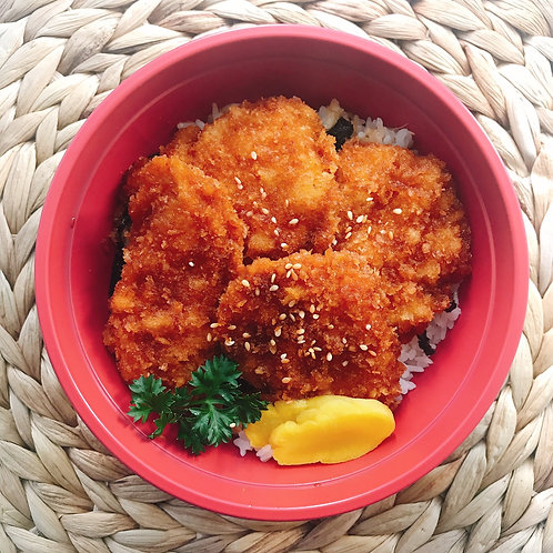9月26日(木)あっさり!醤油ダレチキンカツ丼(みそ汁付)