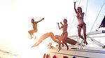 croisière voilier mouillage fun amis famille soleil snorkeling