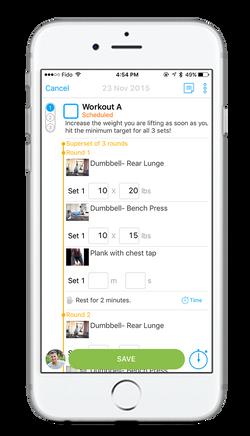 ODC - Workout Plan