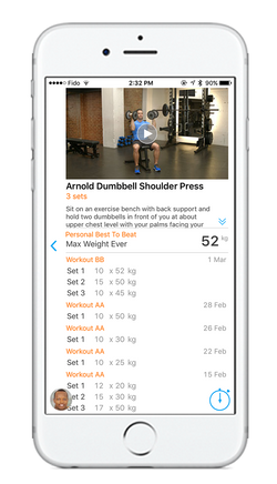 ODC - Exercise Stats App