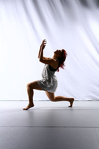 Contemporary dancer Hannah Vincent
