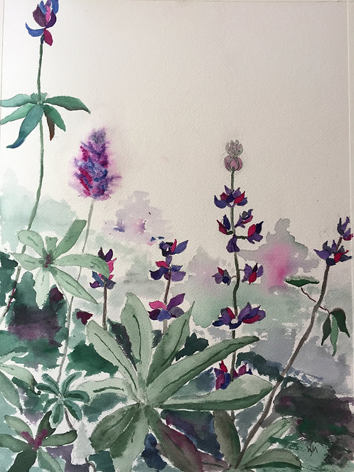 """Lupine 2"" by Wendy Marshall"