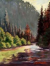"""""""Merced River, Yosemite"""" by Susan Grabowski"""