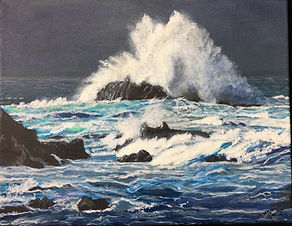 """""""Incoming Storm, Pacific Grove"""" by Margo Bangert"""