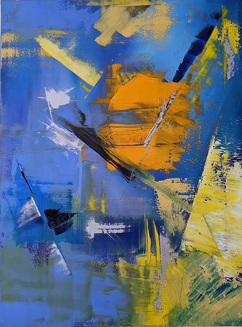 """Evening Walk"" by Claudia Pfalzer"