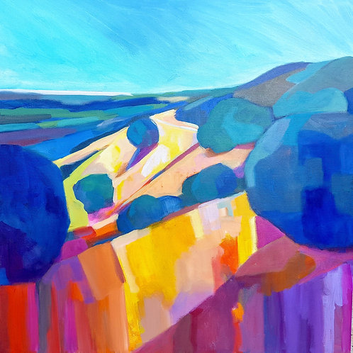 """Bay Ridge Trail"" by Stephanie Maclean"