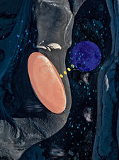 """Tide Pool I"" by Azita Gandjei"