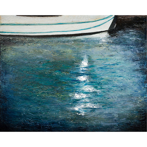 """Memory of Water with a Boat"" by Rachel Tirosh"