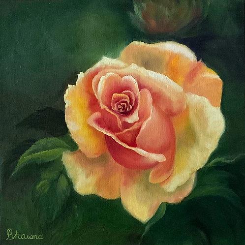 """Yellow Rose"" by Bhawna Seth"