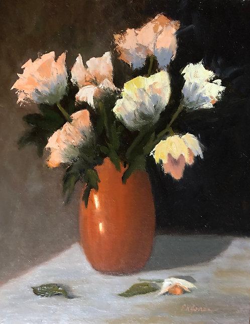 """Floral Exuberance I"" by Patricia Jones"