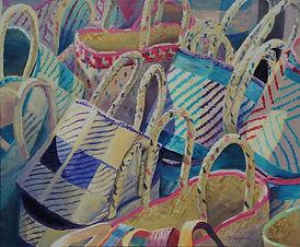 """FRENCH BASKETS"" by Doriane Heyman"