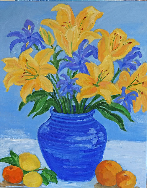 """Lillies"" by Alice Brown"