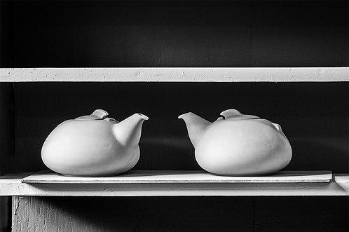 """""""Teapot Twins"""" by Marj Green"""