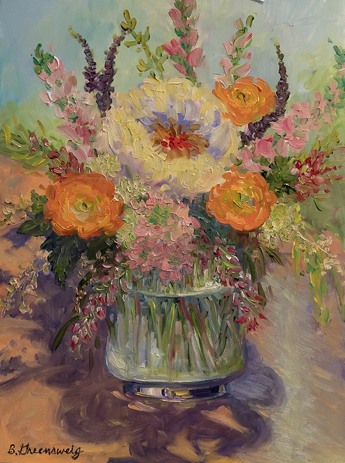 """""""Flowers for Mother's Day"""" by Barbara Greensweig"""