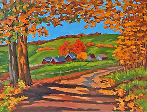 """""""Fall Color"""" by Alice Brown"""