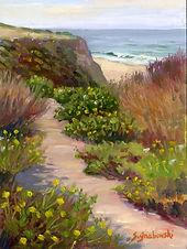 """Morning at Poplar Beach"" by Susan Grabowski"
