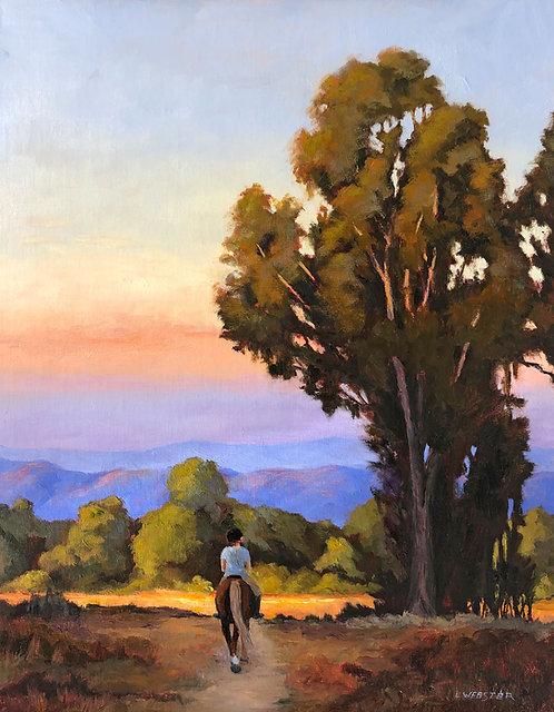 """Evening Ride"" by LaRhee Webster"