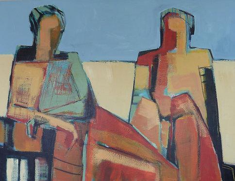 """""""Conversation"""" by Gail Ragains"""