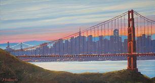 """""""Golden Gate Dawn"""" by Susan Grabowski"""