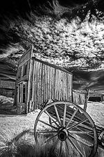 """""""Clouds Over Historic Ghost Town"""" by Tom Green"""