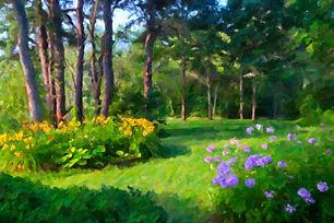 """""""Wellfleet Garden"""" by Larry Salveson"""