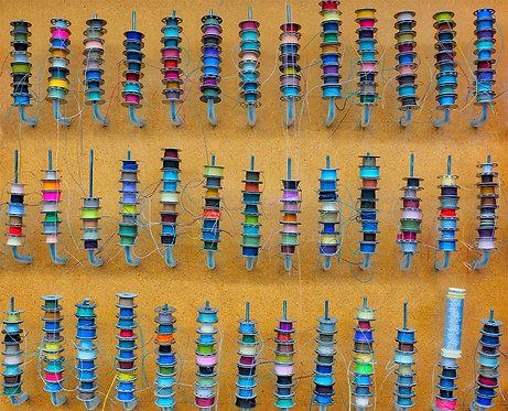 """Thread Bobbins"" by Sterling Haidt"