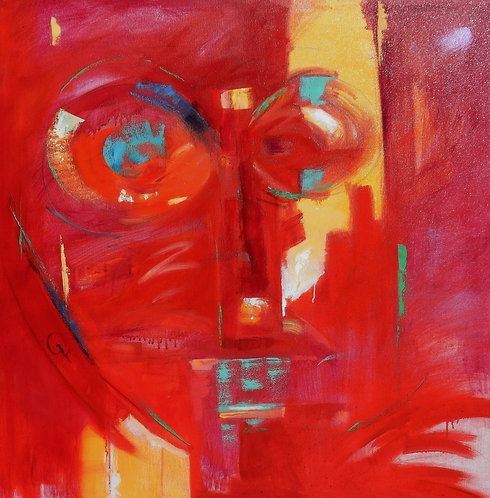 """Red Faced"" by Gary Coleman"
