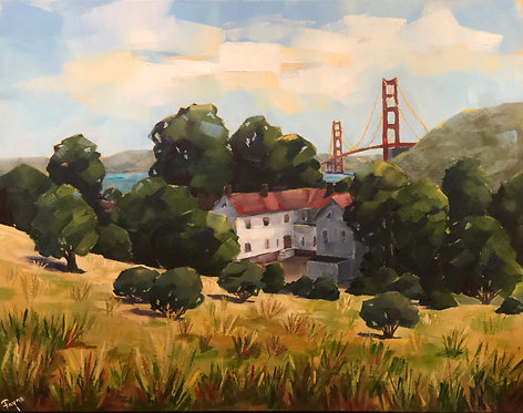 """""""View From Ft. Baker"""" by Fayne Muldoon"""