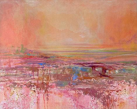 """""""PINKS & BRIDGES"""" by Karin Taber"""