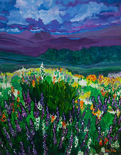 """Mountain Lupine"" by Rona Foster"