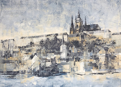 """Lesser Town and Castle in Prague"" by Zdenka Bleile"