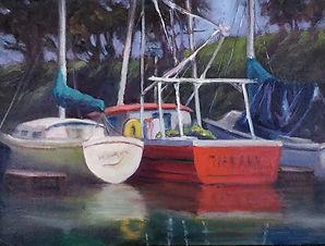 """Moss Landing Reflections"" by Kaaren Marquez"