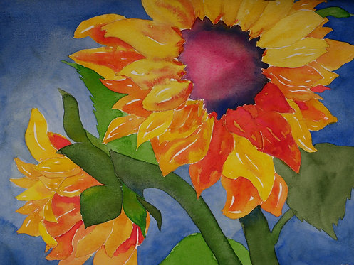 """""""Sunny Pair"""" by Susan Butler-Graham"""