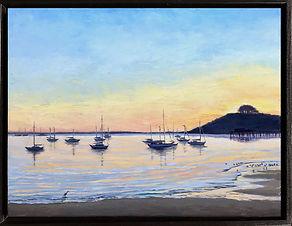 """Pillar Point Sunset"" by Melissa Mandegarian"