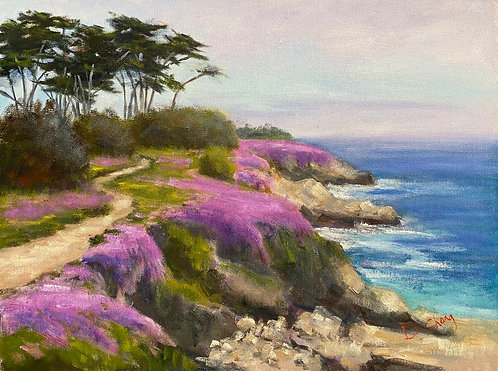 """""""Spring in Pacific Grove"""" by Lu Chang"""