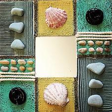 """Decorative Mirror"" by Bilha Golan"