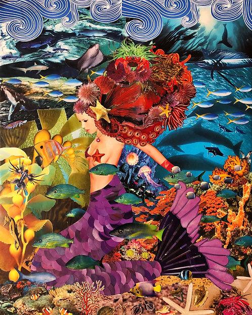 """""""Mermaid Fantasy"""" by Mariel Weinbender"""