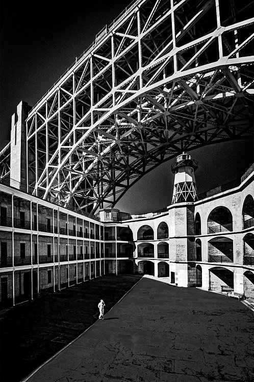 """Fort Point Protecting San Francisco Area"" by Tom Green"