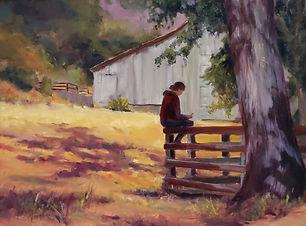 """Waiting on a Horse"" by Kaaren Marquez"