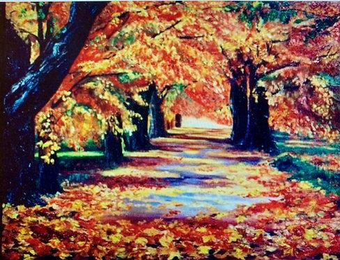 """Golden Road"" by Yelena Joy"