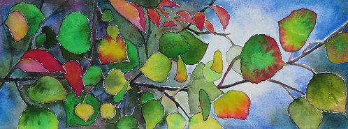 """Colorado Leaves"" by Susan Butler-Graham"