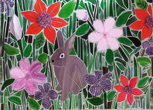 """Bunny in the Garden"" by April Maiten"