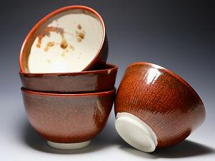 """Set of 4 Ramen Bowls"" by Miki Shim Rutter"