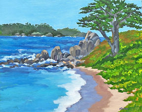 """""""Carmel Point"""" by Alice Brown"""