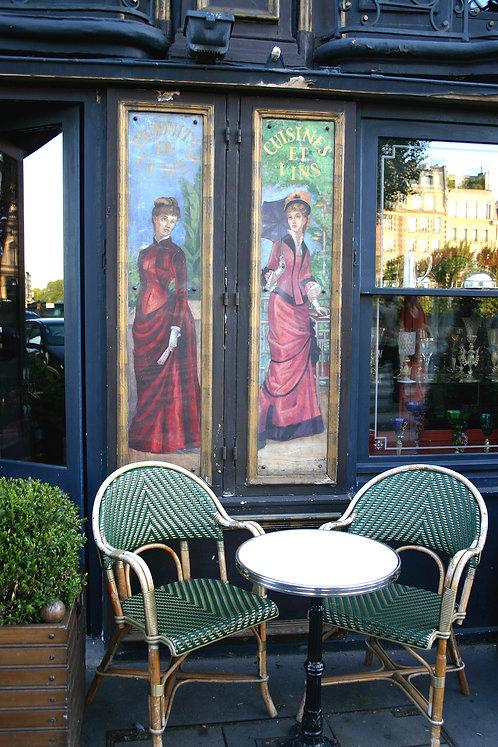 """Left Bank Cafe, Paris"" by Lynne Auld"