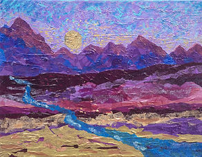 """Purple Mountains Majesty"" by Rona Foster"