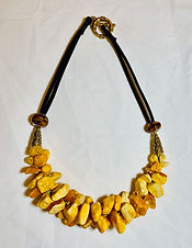"""""""Necklace with Amber"""" by Lana Potels"""