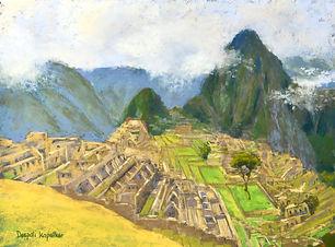"""Machu Picchu"" by Deepali Kapatkar"