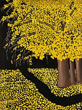 """Gingko in the Fall"" by Terry Harms"