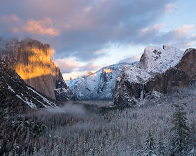 """Winter Sunset 